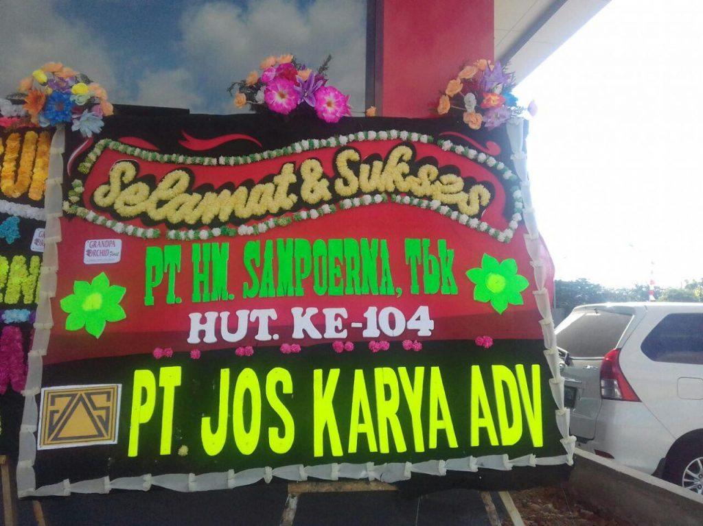 Papan Karangan Bunga Ucapan Hari Ulang Tahun (HUT) di Makassar