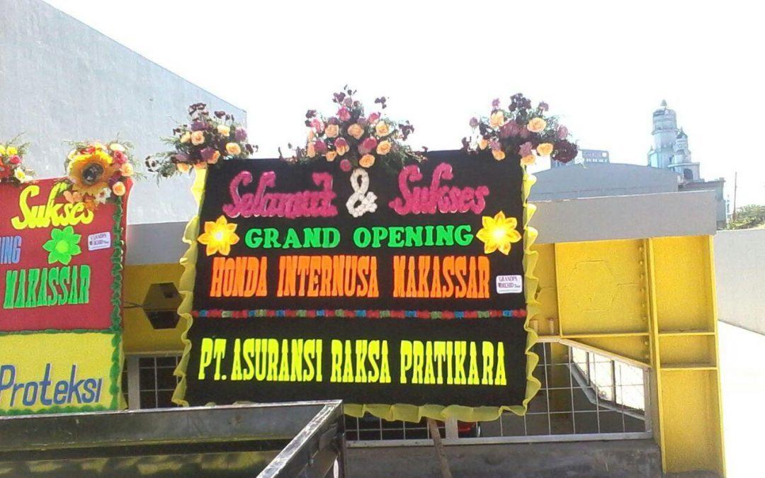 Papan Bunga Peresmian/ Grand Opening Makassar