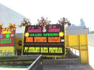Papan Karangan Bunga Ucapan Garnd Opening di Makassar