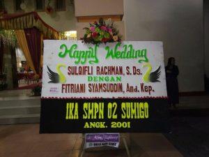 Papan Bunga Pernikahan Makassar
