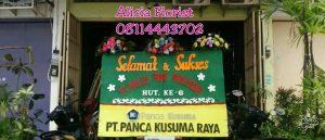 Bunga Ucapan selamat dan sukses PT Mallo Food Makassar