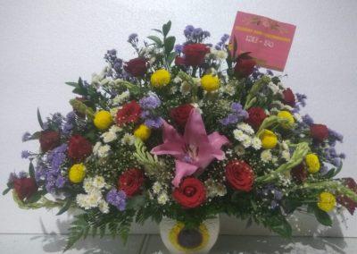 bunga meja makassar