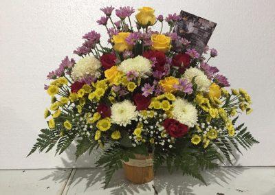 bunga meja makassar murah