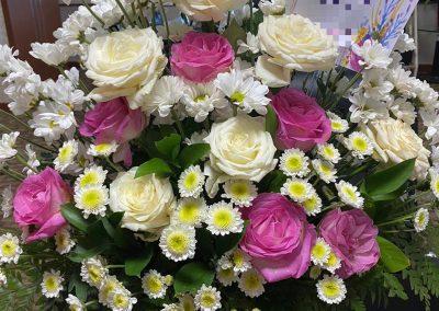 bunga meja makassar terbaik