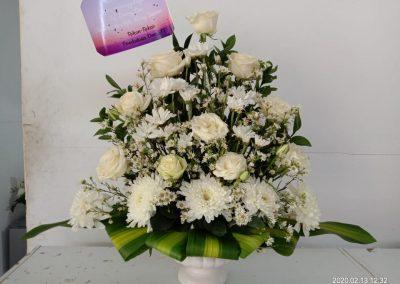 jual bunga meja